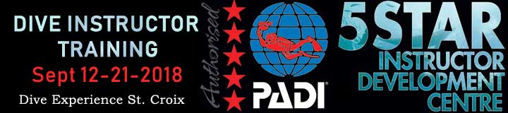 PADI IDC Training in ST Croix